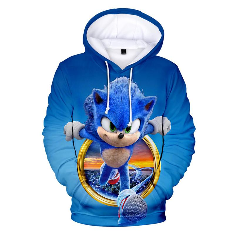2020 2020 Movie Sonic The Hedgehog Clothing Cosplay Hoodie Sweatshirt Mens Sonic The Hedgehog 3d Printed Hoody Pullover Tops From Oxxxy 17 64 Dhgate Com