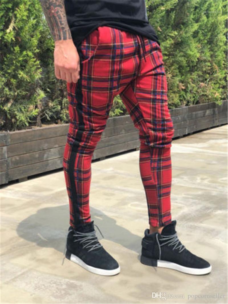 Lange Hose männlich Regular Kordelzug Lässige Kleidung Herren Designer Parallel Hosen Mode europäische und amerikanische Voll