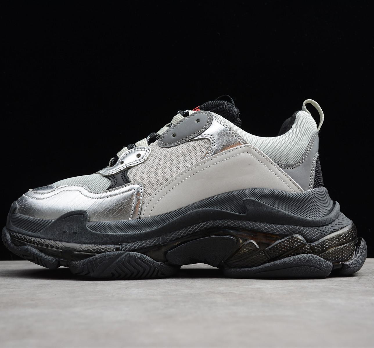 2020 Paris Freizeitschuhe Triple - S Klar Sohle Trainer Dad Schuh Sneaker Schwarz Grün Silber Kristall Unten Herren Damen Superior Chaussures