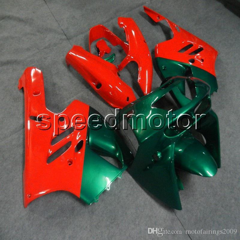 23colors + Gifts fairings الأخضر الداكن دراجة نارية لكاواساكي ZX9R 1994 1995 1996 1997 1997 ZX-9R ABS لوحات السيارات