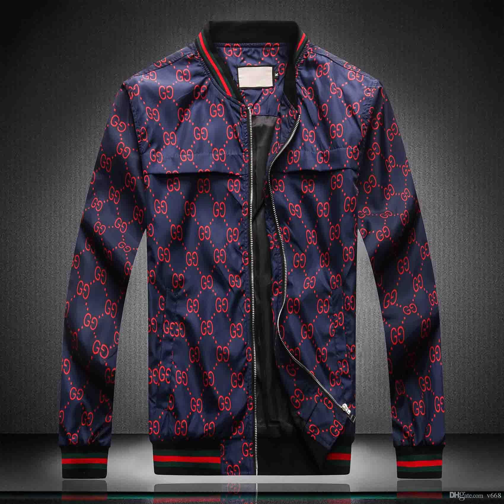 design de luxo 2020ss Outono Inverno Marca New mangas compridas medusa homens blusão jaquetas homens jaquetas casuais