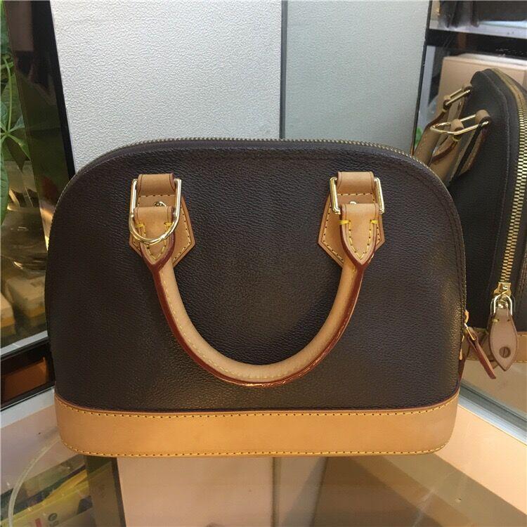 Newset Klasik Kabuk Çanta Damier Patent Deri Izgara Çanta Çanta Omuz Çantaları Kadın Omuz Tuval Crossbody Çanta Alışveriş Bez Çantası