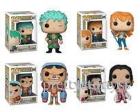 Pretty store Pretty Cute present Funko POP Anime: One Piece Zoro Nami Franky Boa. Hancock Vinyl Action Figure With Box Toy