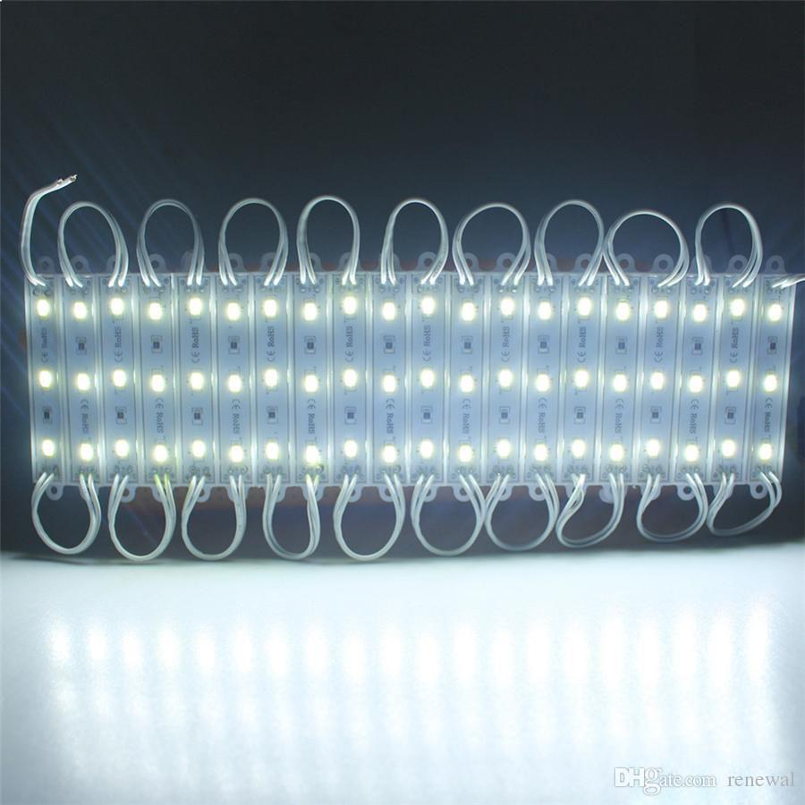2020 DHL SuperBright للماء SMD5630 LED وحدة ضوء DC12 وحدة بارد أبيض / أبيض دافئ / أحمر / أصفر / أزرق / أخضر