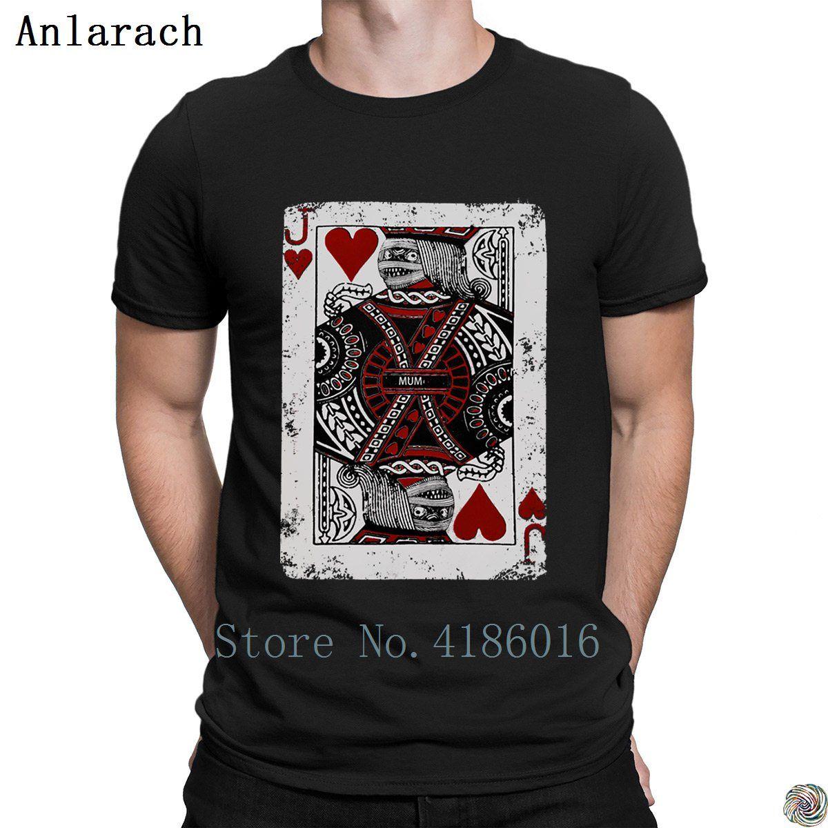 Joker Mamat-shirts Rundhalsausschnitt Vintage-Designing Sommermänner T-Shirt Kleidung HipHop neuer Anlarach Tops ausgestattet
