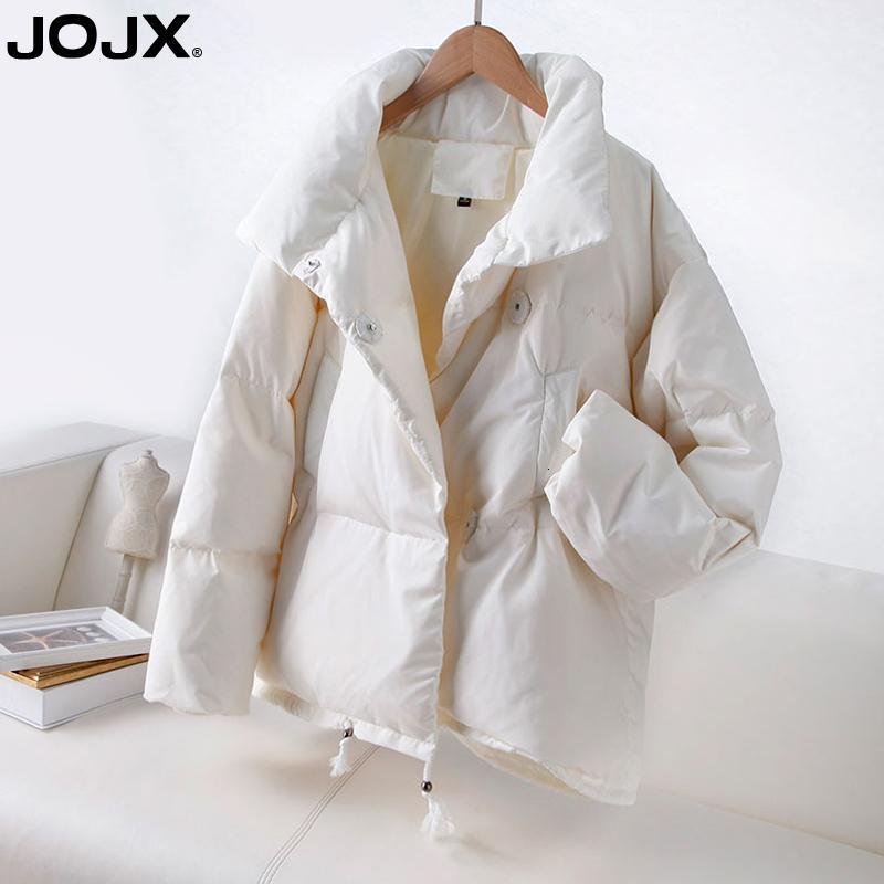 JOJX 2018 Automne Hiver Femmes Mode Parka Veste Hiver Femme Manteau Femme Baissez Veste chaude Plus Size Casual Manteaux T191102