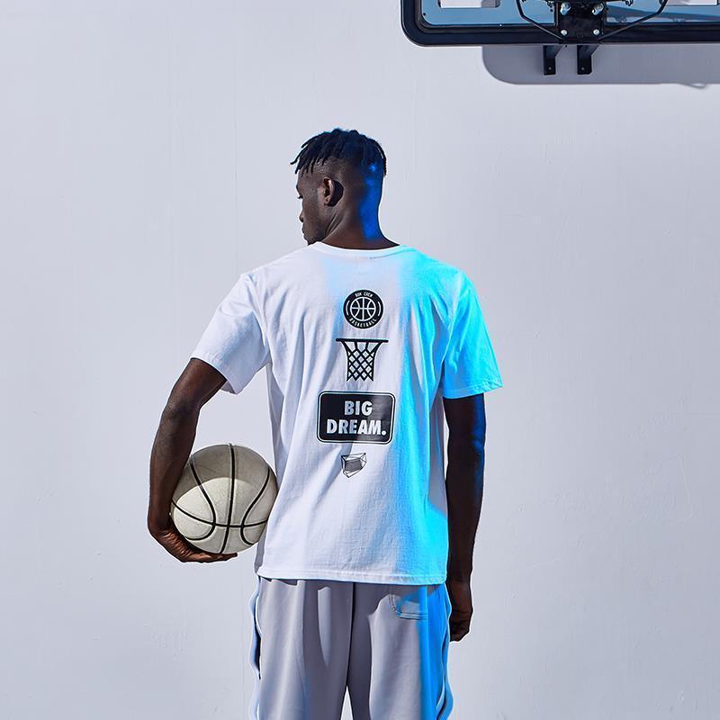Nouvelle étoile de basket-ball t-shirt à manches courtes hommes Courir shirts Chemise sport fitness Respirant Femme Gym Wear Hommes Funs Hauts Loose Fit