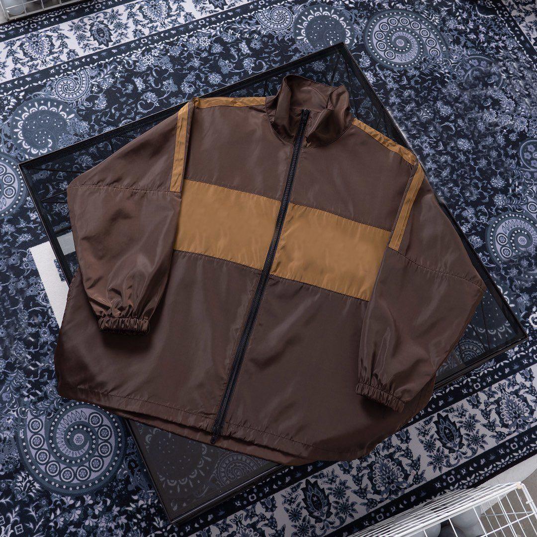 2020 고품질 BGA 자켓 남성 브랜드 지퍼 윈드 디자이너 럭셔리 자켓 운동복 남성 명품 트렌치 코트 스트리트 FF 2042202H