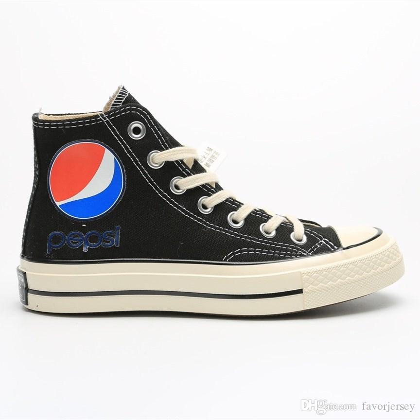 2019 New Cheap Designer Shoes Cartoon Star 1970s Pepsi Canvas Shoes Men Women Skate shoes Size 35-44