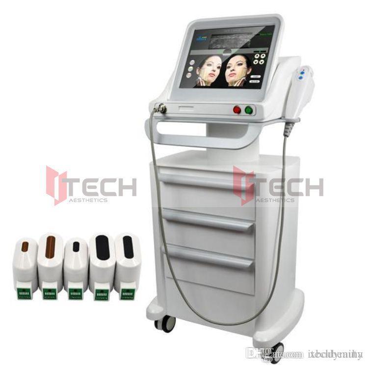 تركز الموجات فوق الصوتية آلة HIFU / HIFU آلة التخسيس / وركزت عالية الكثافة الموجات فوق الصوتية HIFU SMAS المضادة للشيخوخة الجلد رفع الوجه