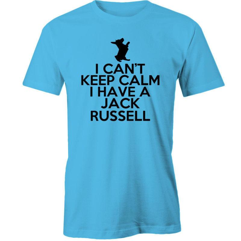 Jack Russell Tee I Can/'t Keep Calm Have A Standard Unisex T-shirt