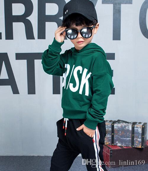 Bébé Garçons Et Filles Suit Marque Survêtements 2 Enfants Vêtements Set Vente Chaude De Mode Printemps Automne Enfants Robes À Manches Longues Chandail chchir34