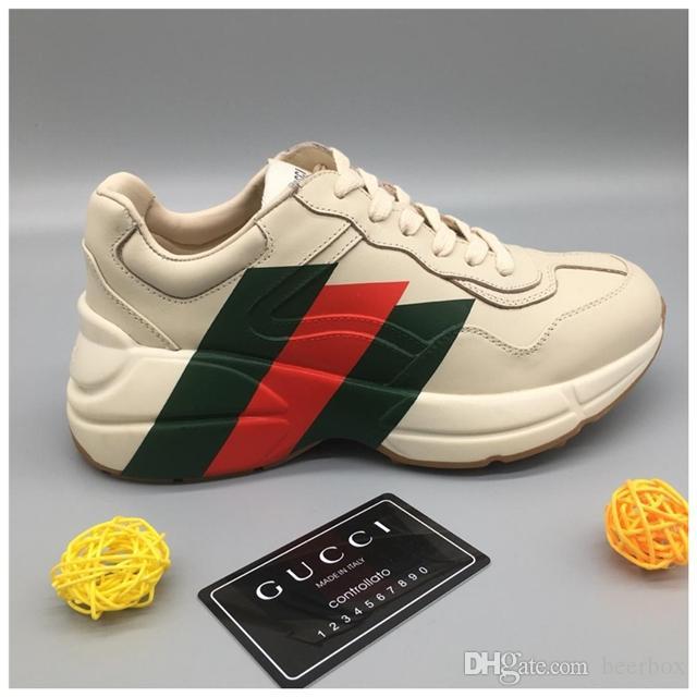 Sneaker Platform Turnschuhe aus Wildleder Designer Kalbsleder-Schuhe Mens echtes Leder Art und Weise Turnschuhe Mischfarbe mit dem Kasten d01