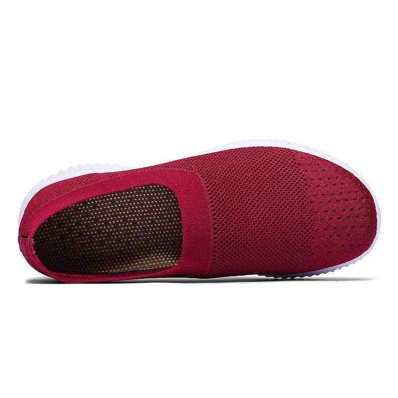 Горячая распродажа - обувь ручной работы, женская повседневная обувь, модные женские кроссовки, женская обувь, слип на женских туфлях, повседневные квартиры