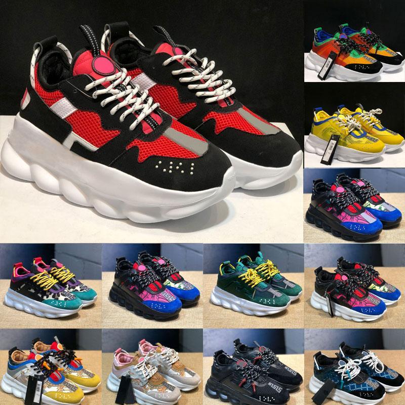 Moda New Shoes qualidade Chegada acorrentado Mulheres Homens Chaussures Sports Shoes peso instrutor Luz Link-gravadas ao ar livre Sole Com