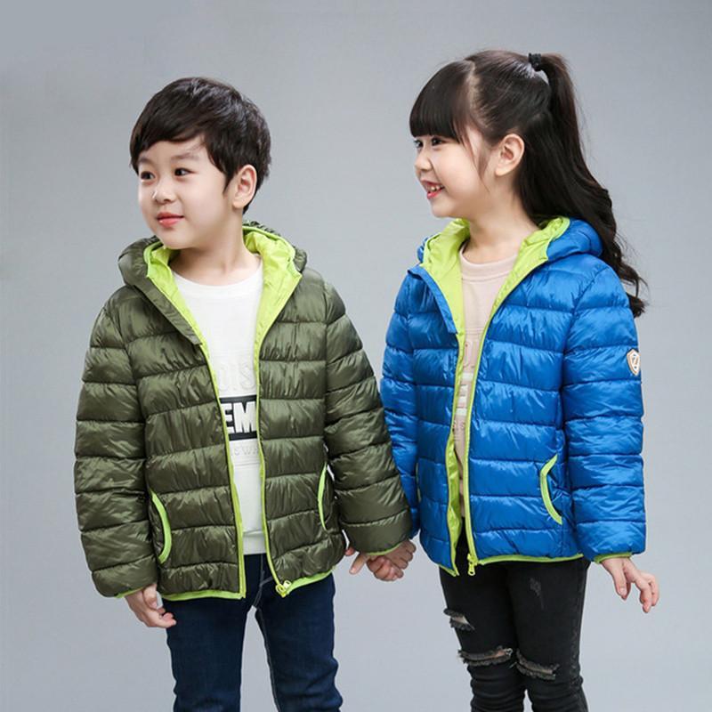 Herbst-Kinder mit Kapuze Oberbekleidung Jungen warme Jacken-Mode für Kinder Reißverschluss-Mantel-Kleidung Teenager-Mädchen Oberbekleidung Jacke