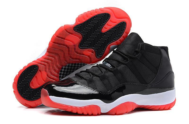 Novos 11 melhores sapatos azul espacial infravermelho jam Georgetown Concord Gym Equipe vermelha 11 s homens e mulheres sapatas da escola