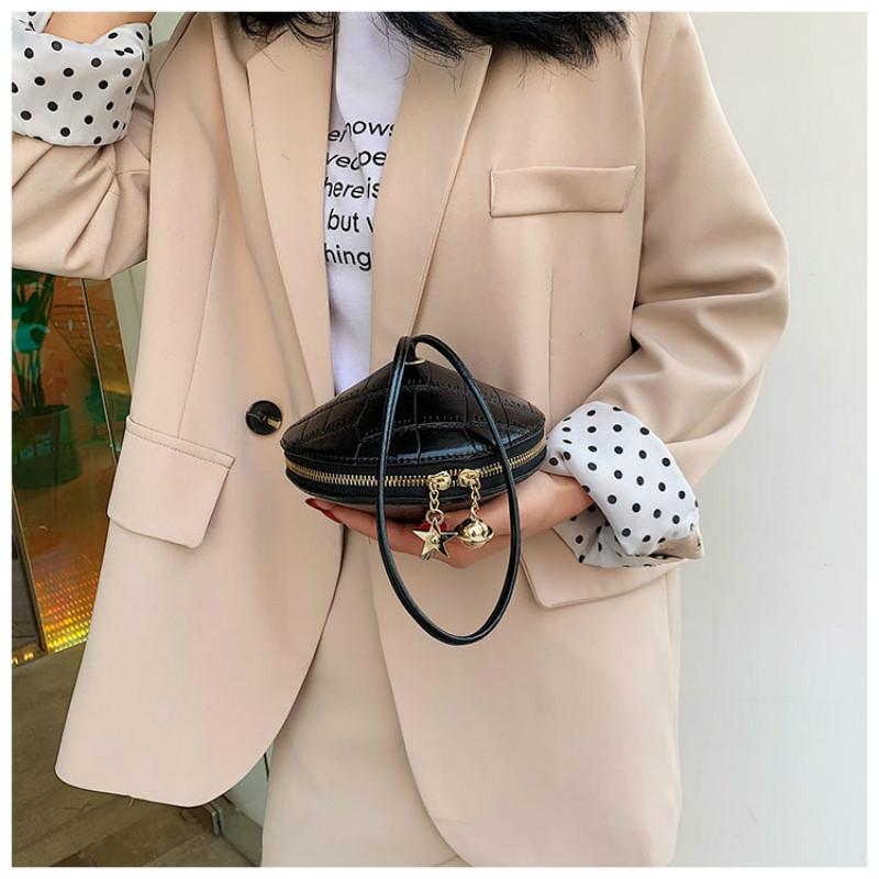 2020 Women Handbag 2020 New Luxury Designer Fashion Gyro Cone Shape Crossbody Messenger Bag Small Shoulder Round Bag From Redline 32 06 Dhgate Com