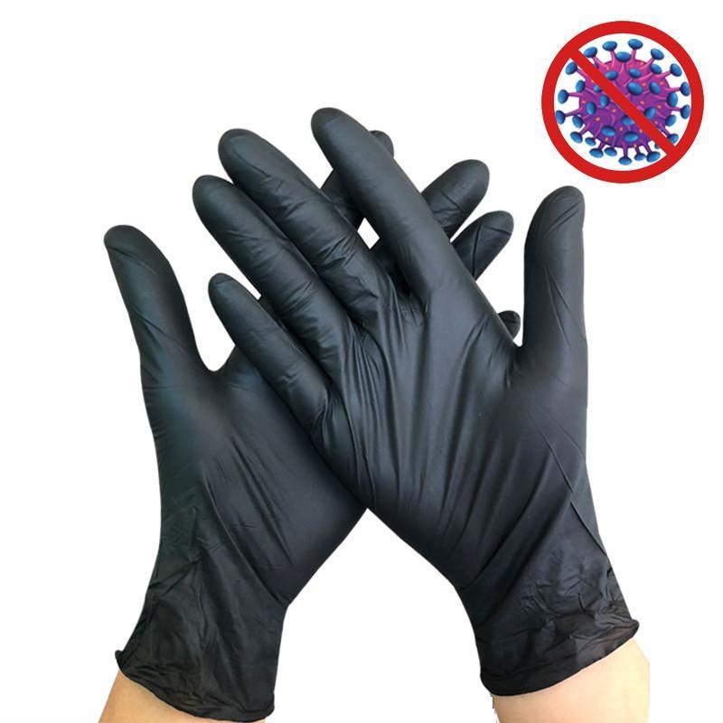 Одноразовые перчатки латексные чистящие перчатки универсальные бытовые садовые чистящие перчатки домашняя чистящая резина в наличии 100 шт. / лот