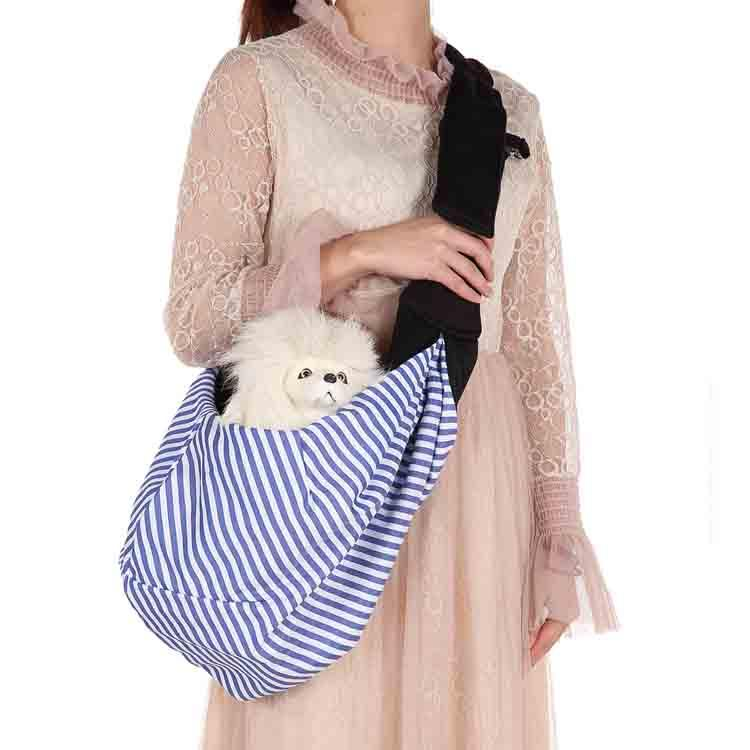 Hot sell Reversible Small Dog Cat Sling Carrier Bag Travel Tote Soft Comfortable Puppy Kitty Rabbit Double-Sided Pouch Shoulder Carry Tote