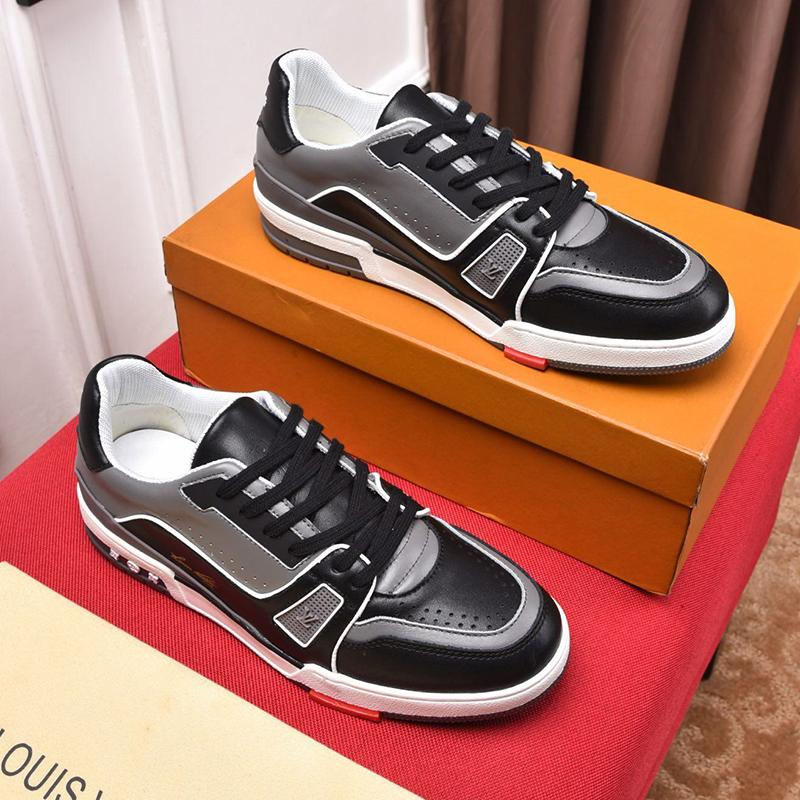 Herrenschuhe Atmungsaktive Schuhe Leichter Sporttrainer mit Origin Box Mode Schuhe für Männer Männer Schuhe Trainers SNEAKER Flats