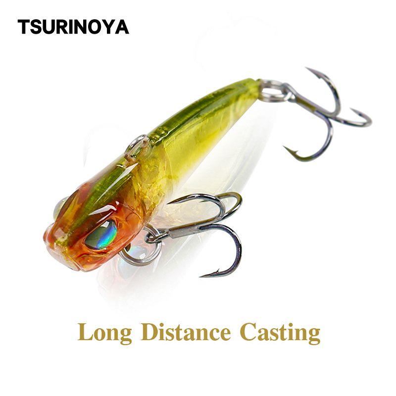 Sports & Entertainment TSURINOYA Fishing Lure DW28 40mm 3.8g Metal VIB Hard Full Swimming Layer Hard Bait Artificial Bait 10 Colors