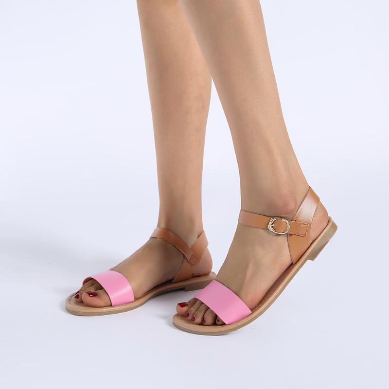 New Flat Sandals Canday Color Women