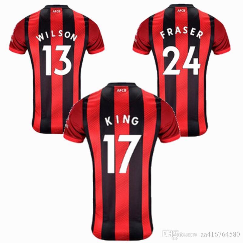 19 20 calcio domestico Jersey LERMA AKE L.COOK WILSON KING Solanke Ibe BROOKS 2019 2020 di calcio della camicia S-2XL