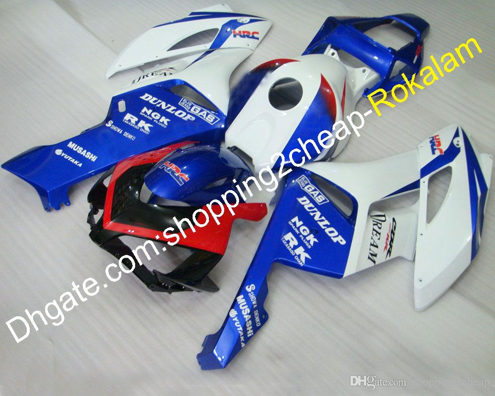 Cowling CBR1000RR For Honda Moto Parts 2004 2005 CBR1000 1000RR 04 05 White Blue Red Black SportBike Bodywork Fairing (Injection molding)