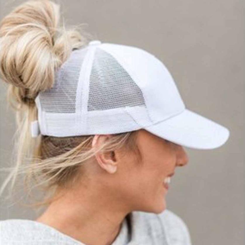 Sommer-Frauen-Mesh Cap Baseballmütze Mode Hysteresen-Kappen für WomenMan Sport Hut Unisex Knochendropshipping