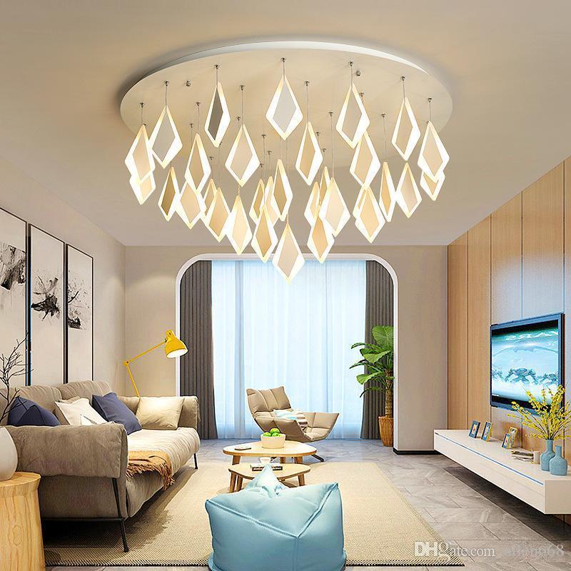 مصباح LED الحديثة أضواء السقف الاكريليك الديكور سقف لغرفة الطعام غرفة نوم وغرفة مطبخ الشمال المعيشة ضوء الثابت