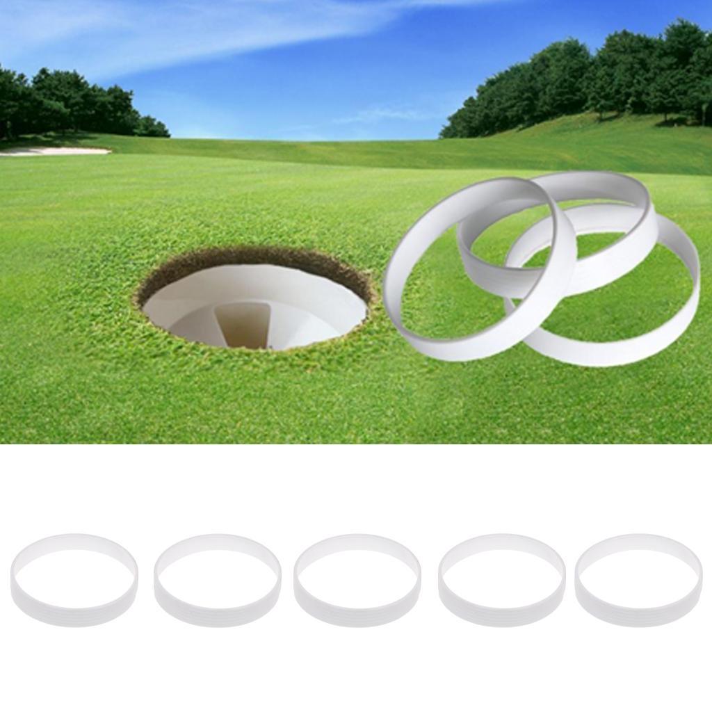 5 Stück 110mm Praktische Golf Putting Cup Putting Green Loch Cup Zubehör