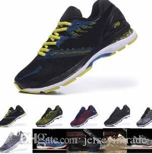 Venta barata como hot cakes 2019 Precio de descuento Nuevo estilo gel kayano 23 zapatos para correr para hombre Botas atléticas Tamaño 40.5-45 asices zapatillas deportivas