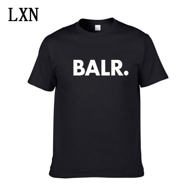 2020 Nuovo Balr progettista magliette Hip Hop camicie da uomo Designer T marchio di moda delle donne degli uomini manica corta Large Size XS-XXL EL-11