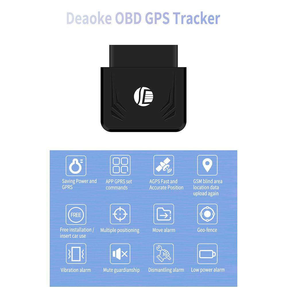 도매 TK306 OBD GPS 트래커 자동차 GSM 차량 추적 장치 OBD2 16Pin 인터페이스 실시간 GPS 추적기 모바일 알람 GPS 트래커