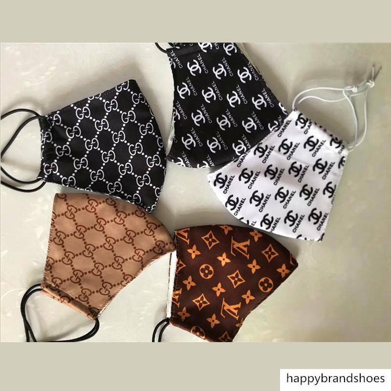 Мода Париж Показать Роскошная маска для Маски мужчины и женщины Lovers Imported Ткань Многократное против пыли Защитные Top качества