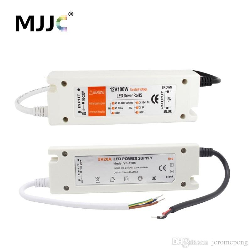 LED di alimentazione 12V 5V 60W 72W 100W 110V 220V AC a DC12v 5 volt striscia di LED LED di alimentazione del driver 100W