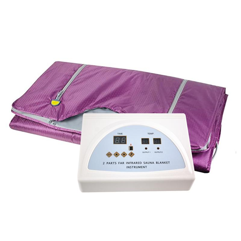 Новое поступление дальней инфракрасной потери веса похудение одеяло обертывание портативный сауна одеяло мешок ель для похудения машина