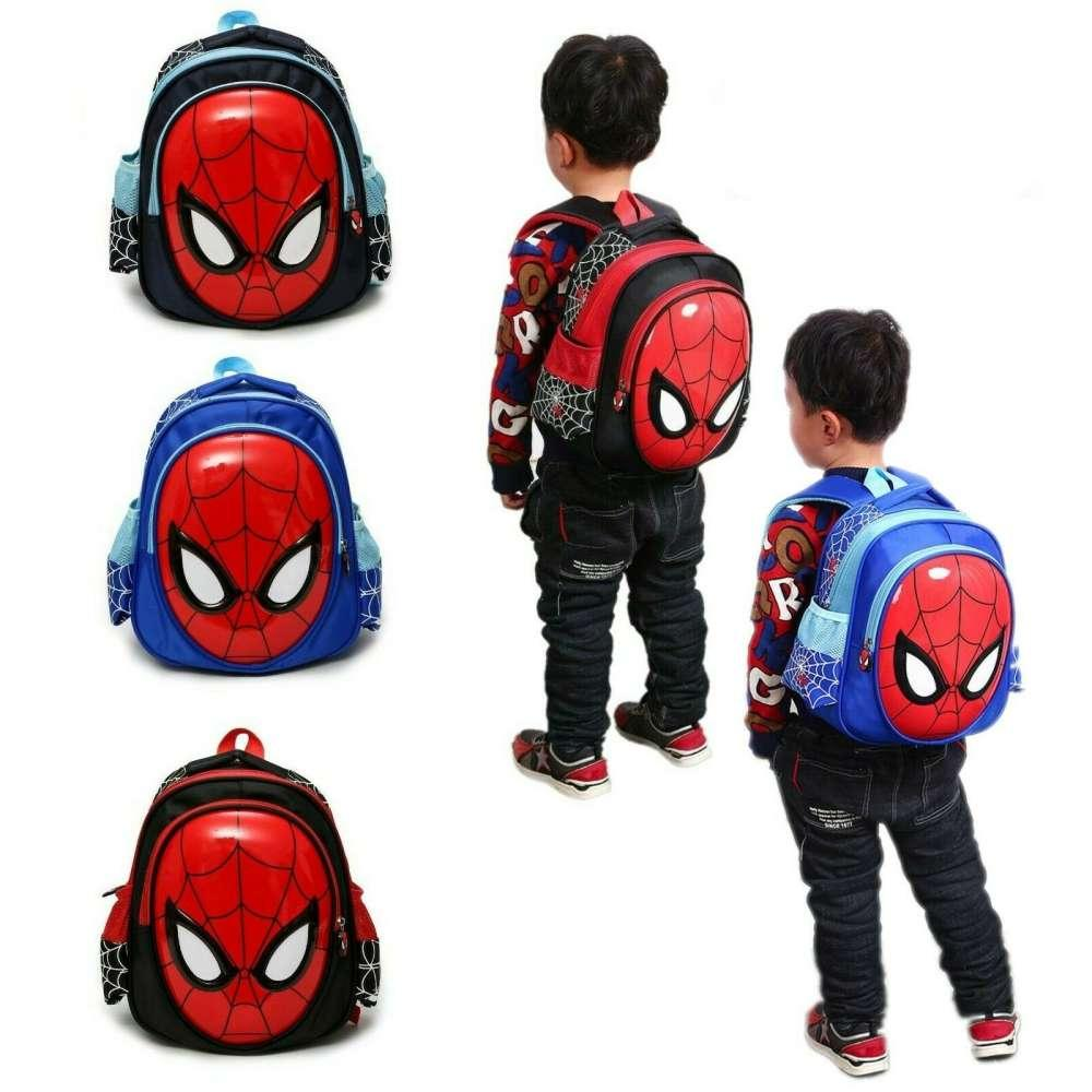 Kids 3D Waterproof School Bag Backpack For Boys Child Spiderman Shoulder Book Bags Satchel Knapsack 3-6 Years Old Spider-Man: Far From Home