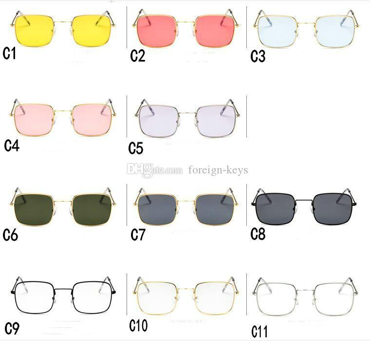 2019 Nouveau style Lunettes de soleil pour hommes / femmes en plein air, lunettes de soleil en verre de googel, mélange de couleurs Livraison gratuite 11 couleurs