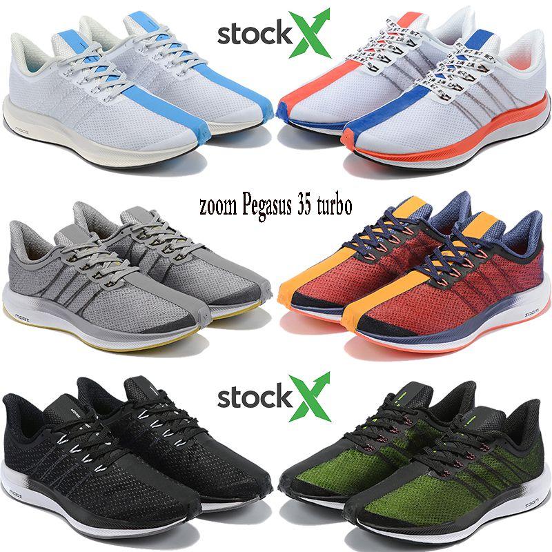 Fashion react zoom Pegasus 35 turbo running shoes Hongkong gold dart be true floral triple black men women stylist sneakers US 5.5-11