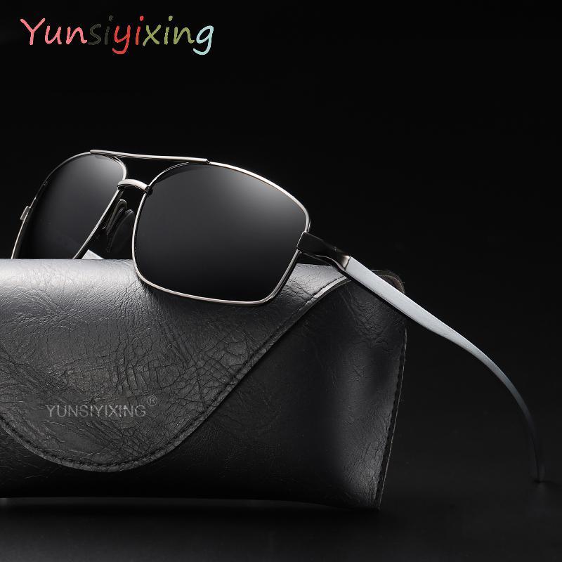 YUNSIYIXING Klassische polarisierte Sonnenbrille Männer Frauen Brand Design Fahren Sonnenbrillen männlich Goggle UV400 Gafas De Sol YS2458