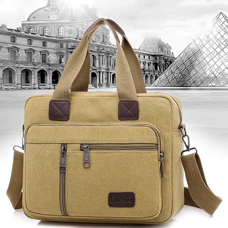 Crossbody Cool Bags Мода Пакет Путешествия Для Мужской Мужчины Холст Сумка Плечо Подросток Пользовательская Школа Новый OSFK BFIFB