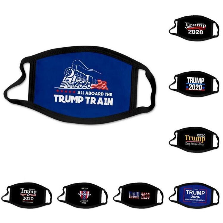 Trump yüz maskesi 17 Stiller Amerikan Seçim Karşıtı Toz Yıkanabilir Tasarımcı Maskeleri koz 2020 Nefes Toptan EJJ451 maske