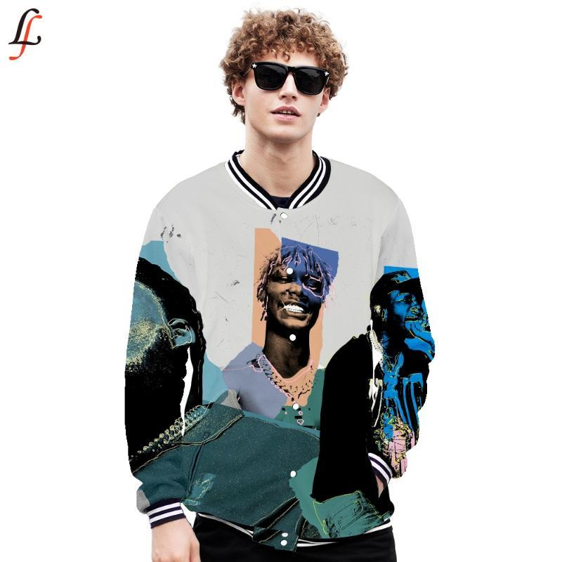 Smoke Hoodies Sweatshirts Harajuku Baseball Jacket Smoke 3D print Spring Winter Clothing 2020 Fashion Tops