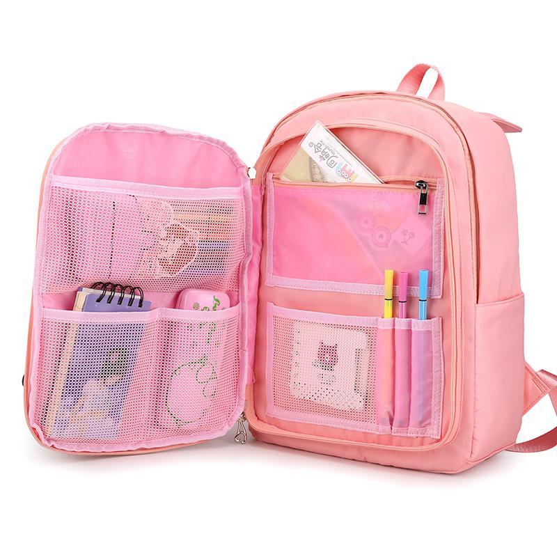 Mujeres de la manera mochila Junior School bolsa para ordenador portátil adolescente, las niñas Niños linda Mochila backbag impermeable mochila escolar 2020 Y200706