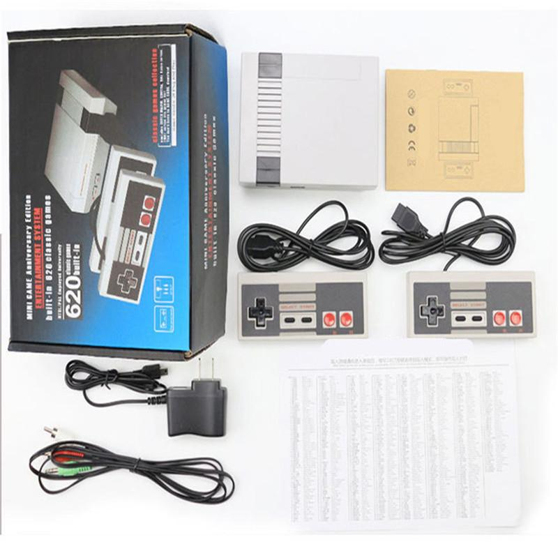 Portable Game Players Classic new game consoles home Connect video game consoles, cards NES Puqing 620