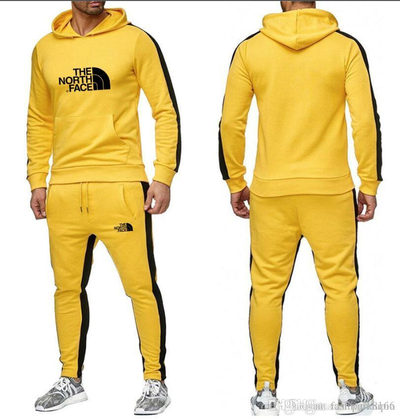 New Mens Tracksuit Set Full Top Bottoms Fleece Jogging Joggers Pullover Jumper