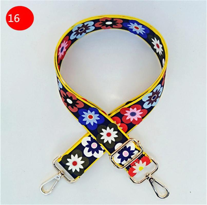 New Canvas Women Bag Strap Vintage Lady Shoulder Strap Easy Matching Bag Accessories Chic Bags Belts /PH-CFY20040917
