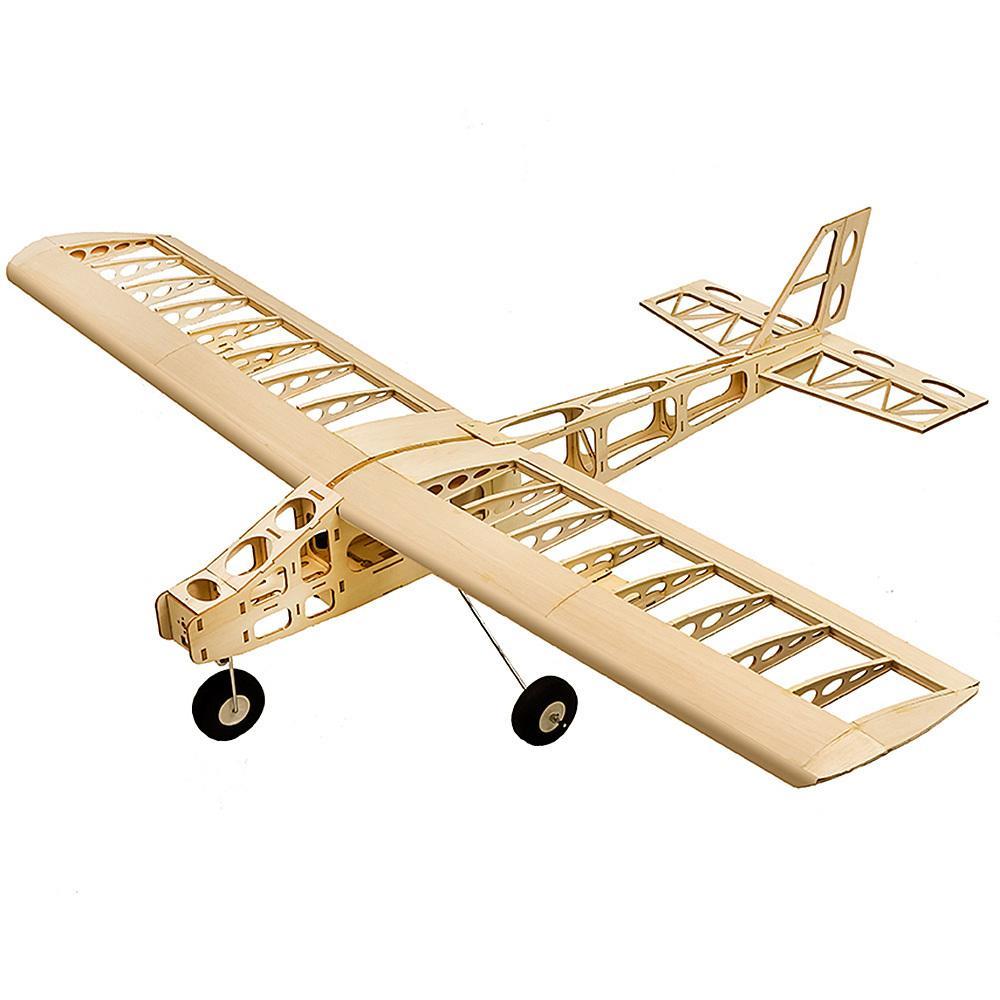 Treinamento do PE Treinamento de T2501 RC Balsa Plano Balsa Madeira 1.3m Wingspan Biplane RC Avião de Toy Kit RC Aviões para crianças Y200413